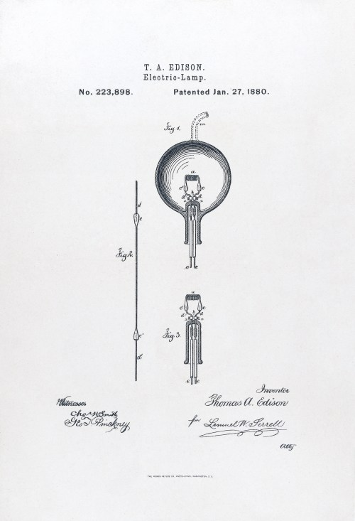 small resolution of u s patent 223898 electric lamp issued january 27 1880
