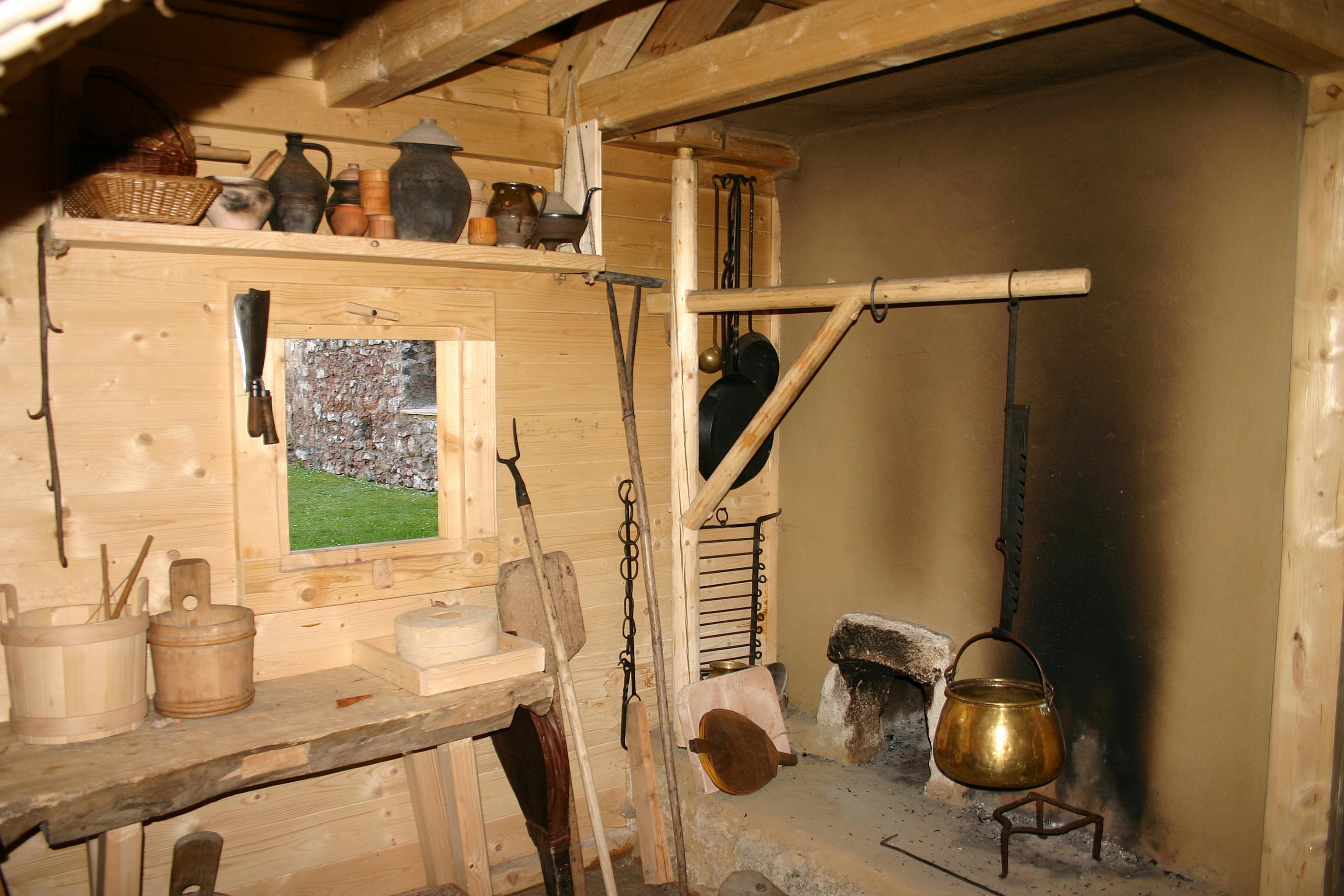 Wonderful File Puchberg Burgruine Mittelalterliche Küche Jpg