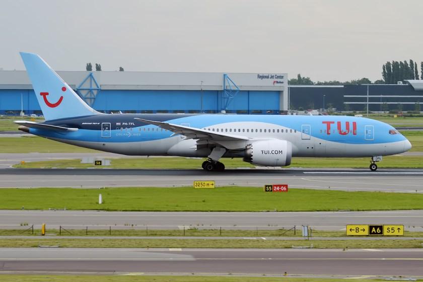 Bildresultat för tui boeing 787 dreamliner