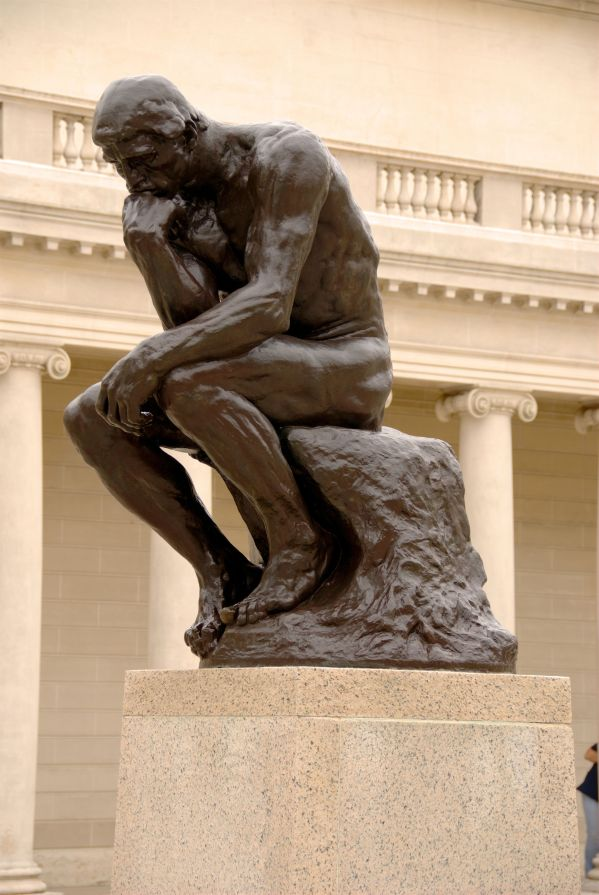The Thinker by Rodin Sculpture