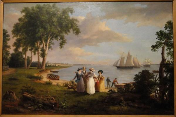 Philadelphia Thomas Birch Paintings