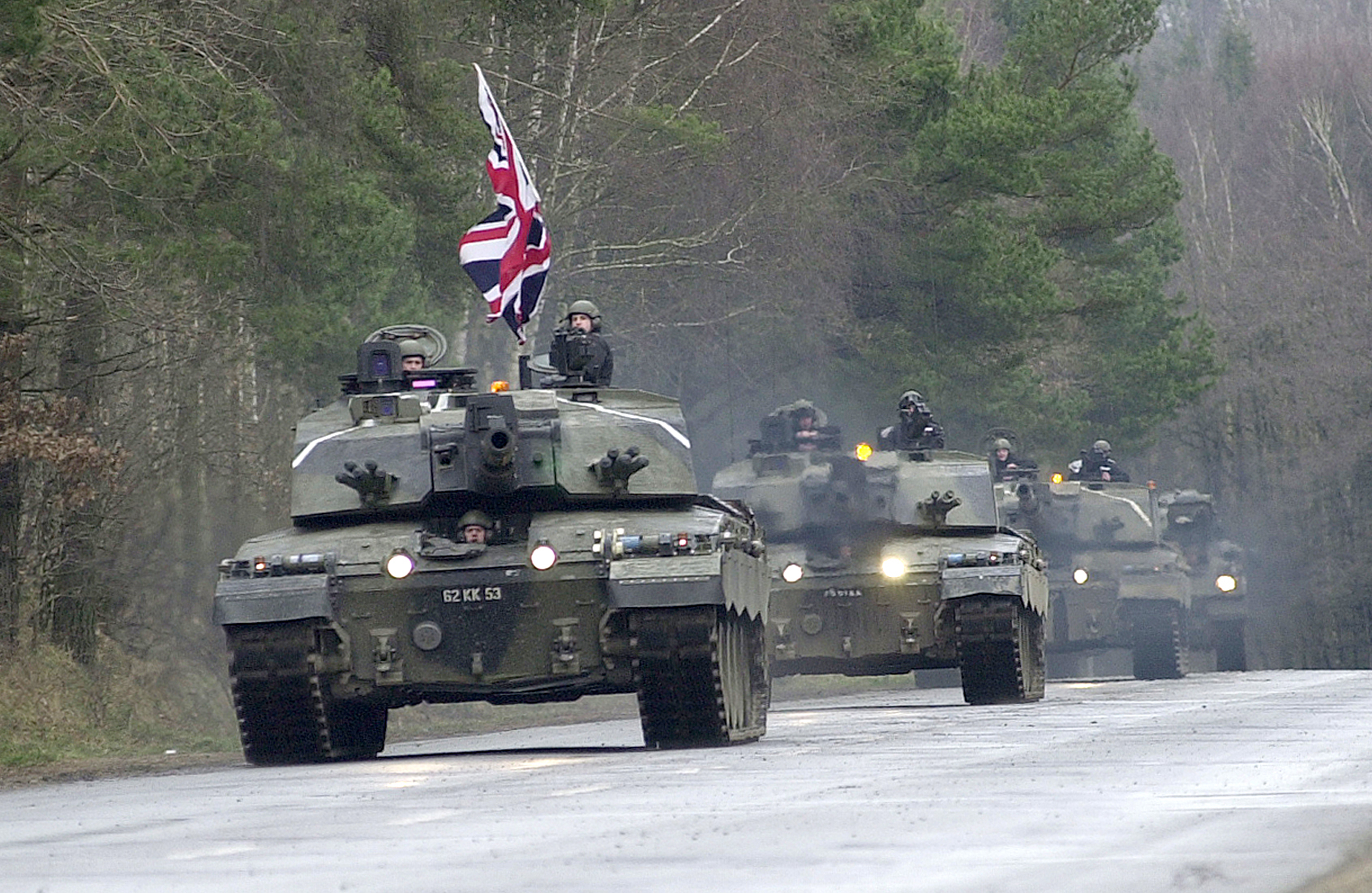 File Challenger 2 Main Battle Tank On Hohne Ranges