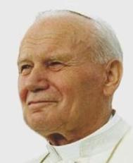 English: Pope John Paul II on 12 August 1993 i...