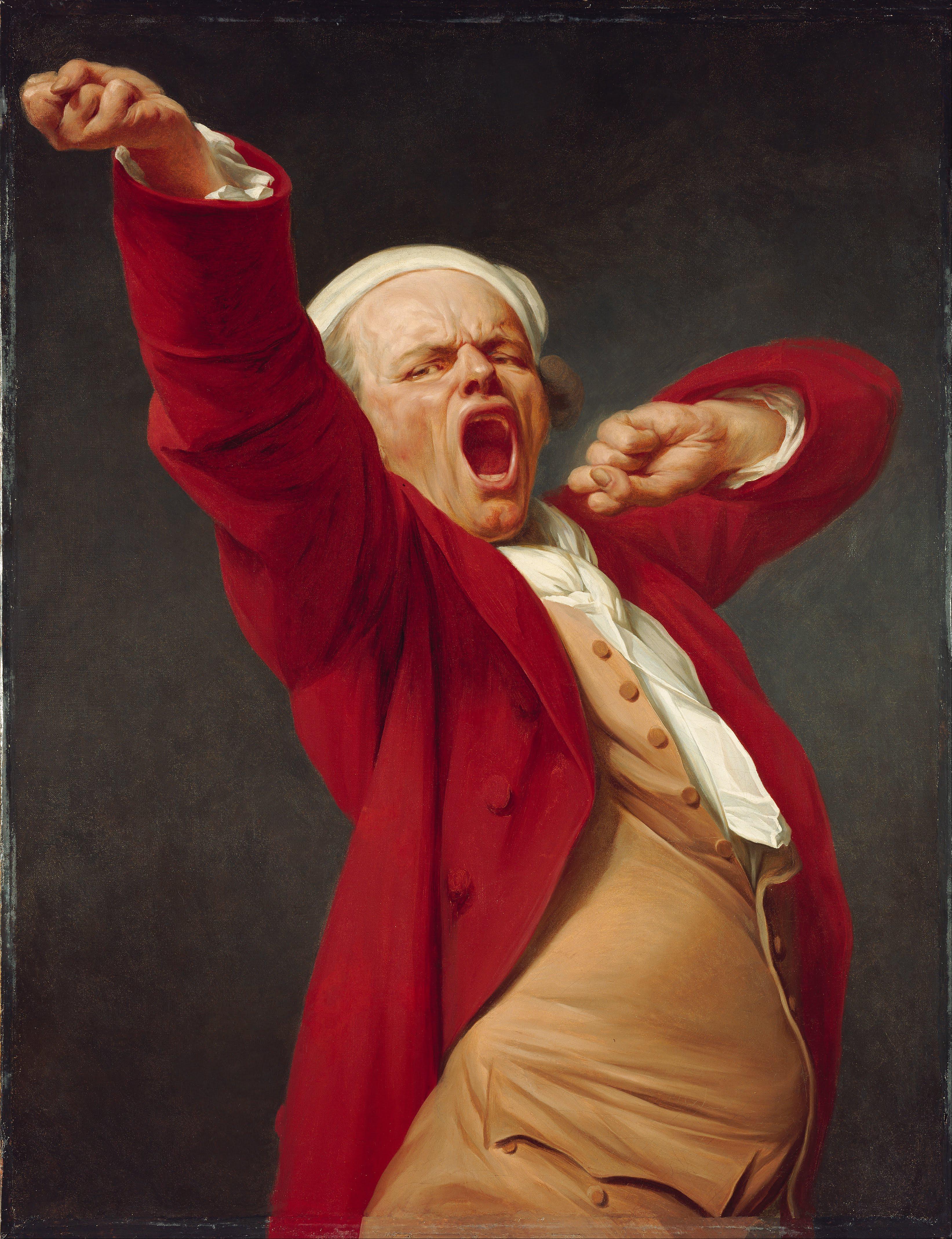 Joseph Decreux : joseph, decreux, File:Joseph, Ducreux, (French), Self-Portrait,, Yawning, Google, Project.jpg, Wikipedia