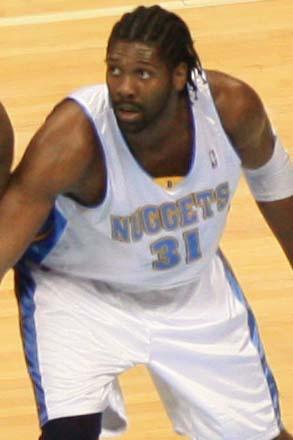Nenê of the Denver Nuggets