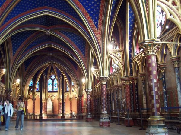 Sainte-chapelle De Paris France