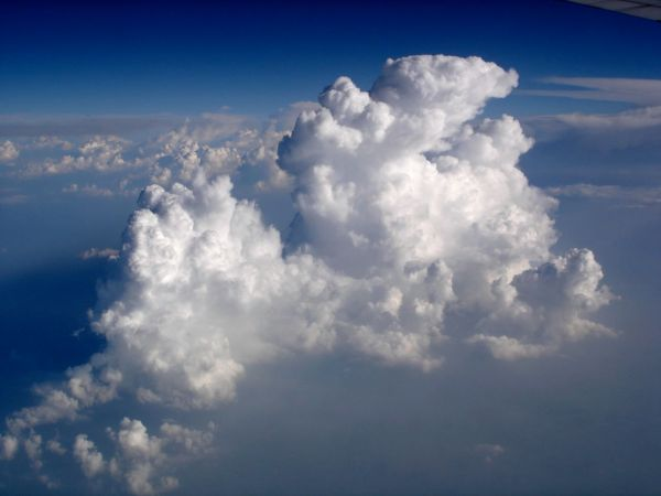 Clouds From Plane - Year of Clean Water