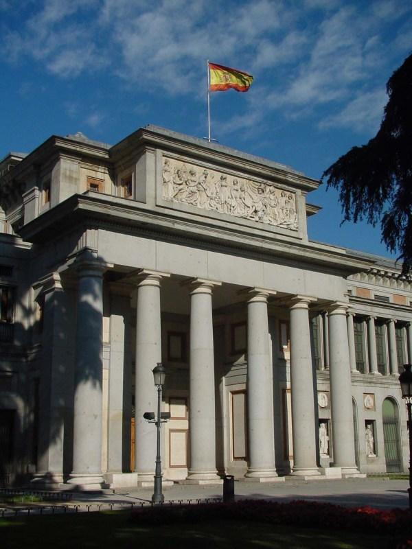 File Fachada Principal Del Museo Prado De