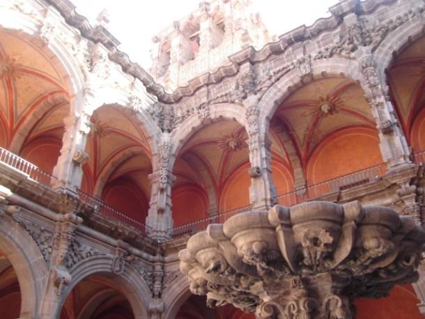 Patio Barroco del Museo de Arte de Querétaro
