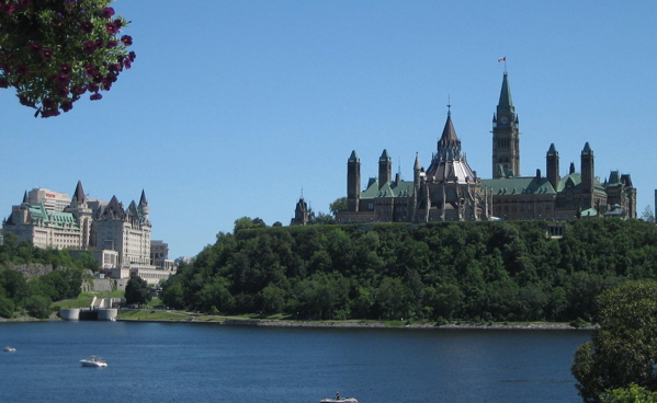 Parliament Hill and Chateau Laurier, Ottawa
