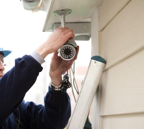 Sécurité maison filaire sans fil