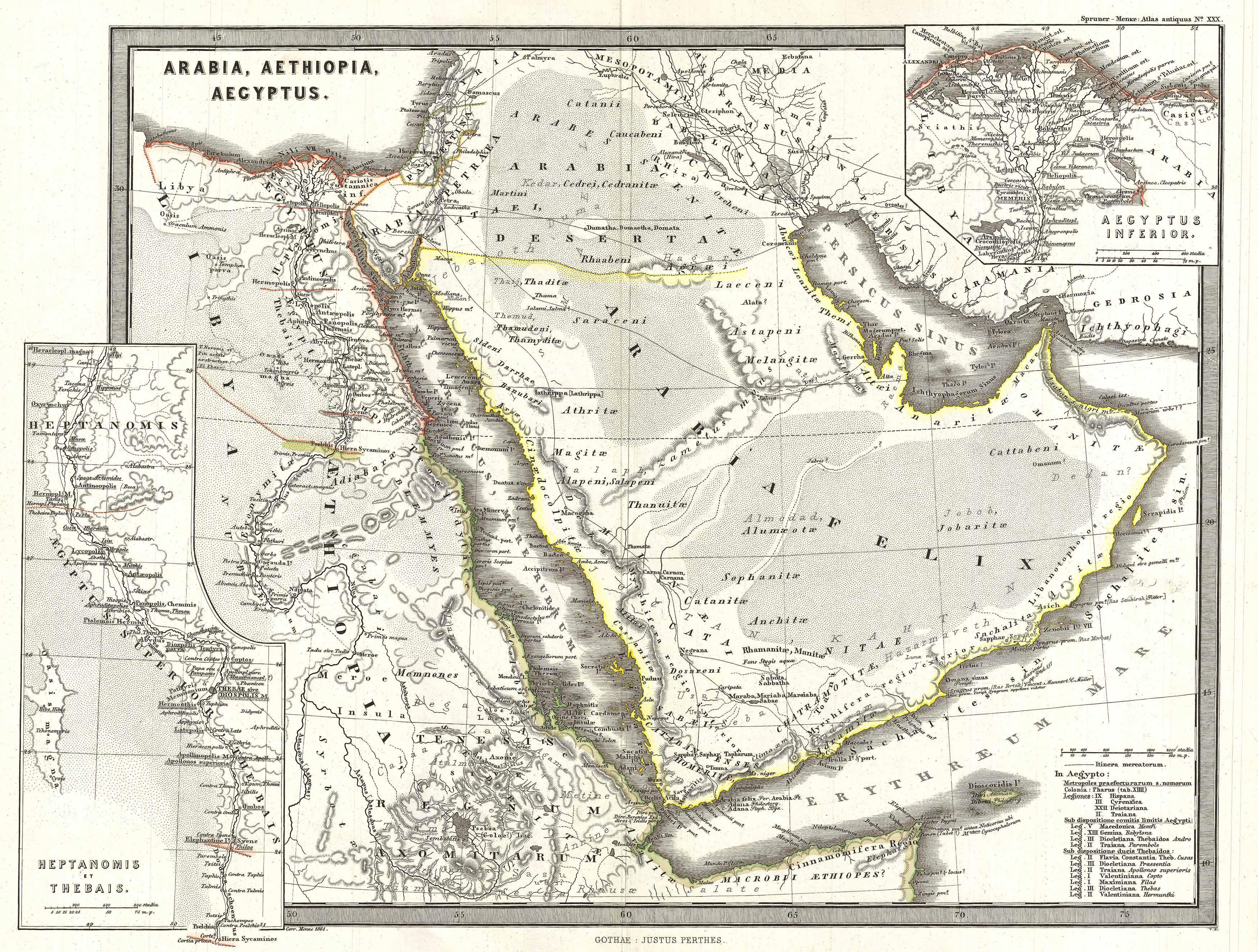 International History Blog Vintage Maps Of The Arabian