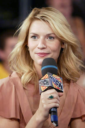 Claire Danes at MuchMusic, for the program Muc...