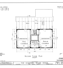 file comfort starr house guilford new haven county ct habs conn 5 guil 18 sheet 3 of 14 png [ 9358 x 7168 Pixel ]