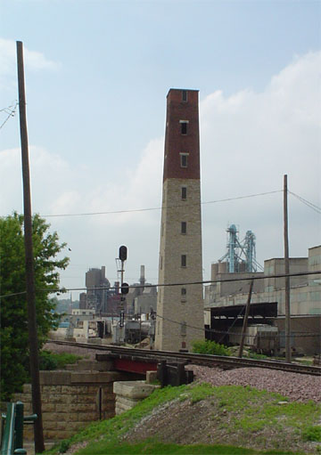 Shot Tower Dubuque Wikipedia