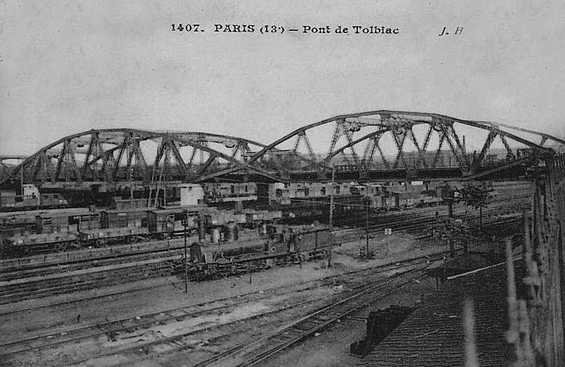 Gare de ParisTolbiac  Wikipdia