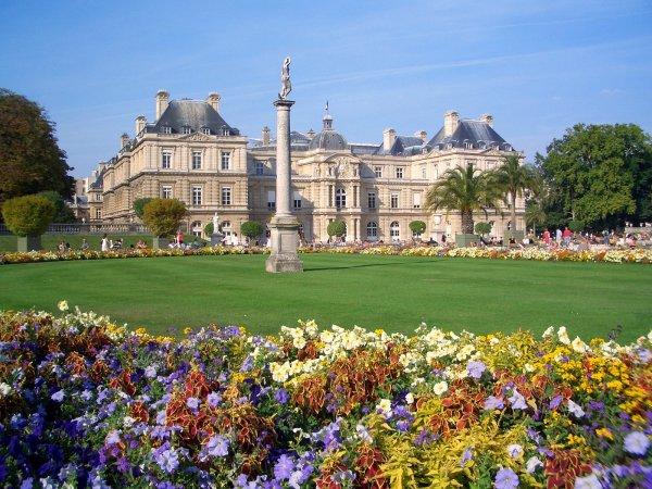 Jardin Du Luxembourg Paris France