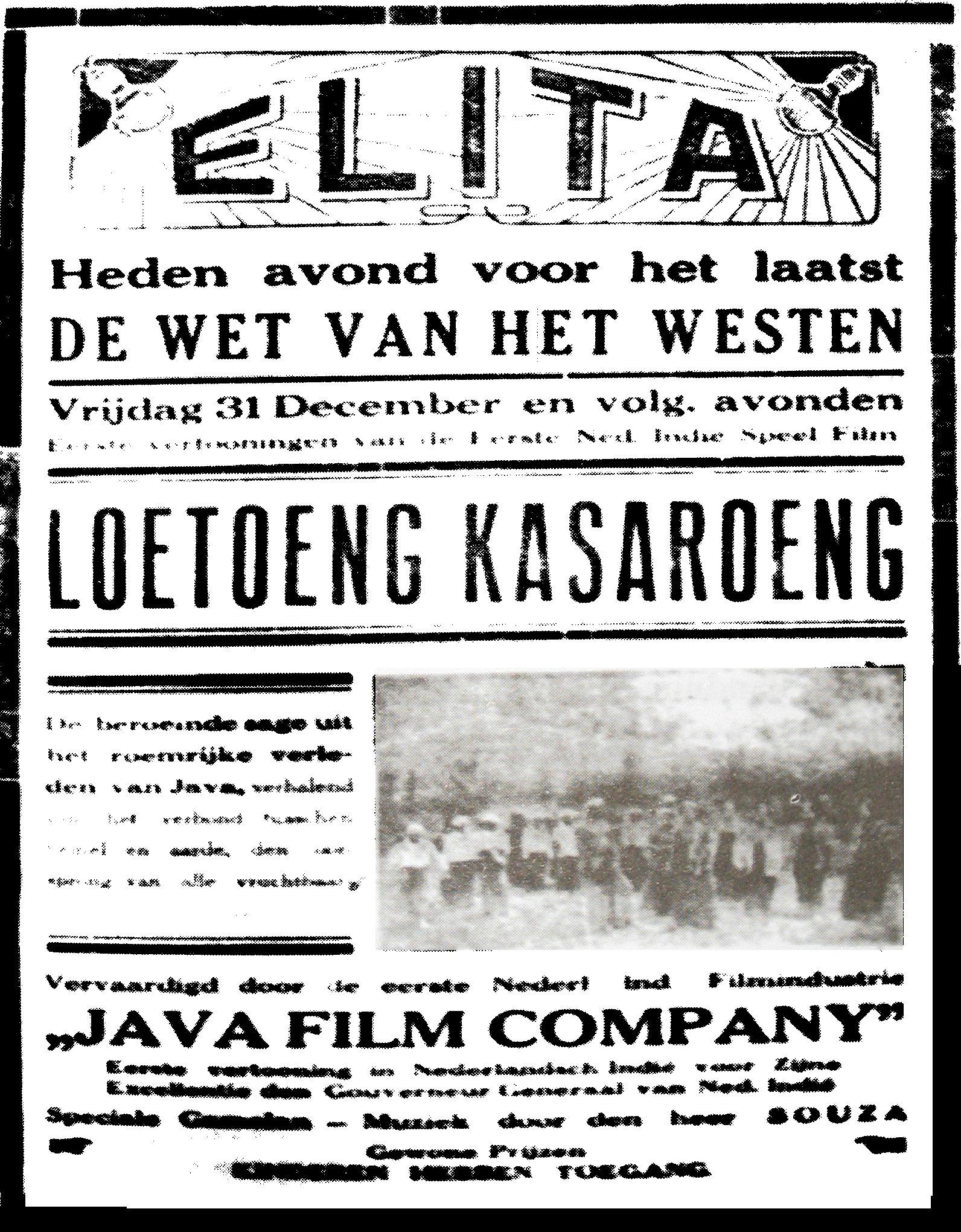 Daftar film Hindia Belanda  Wikipedia bahasa Indonesia