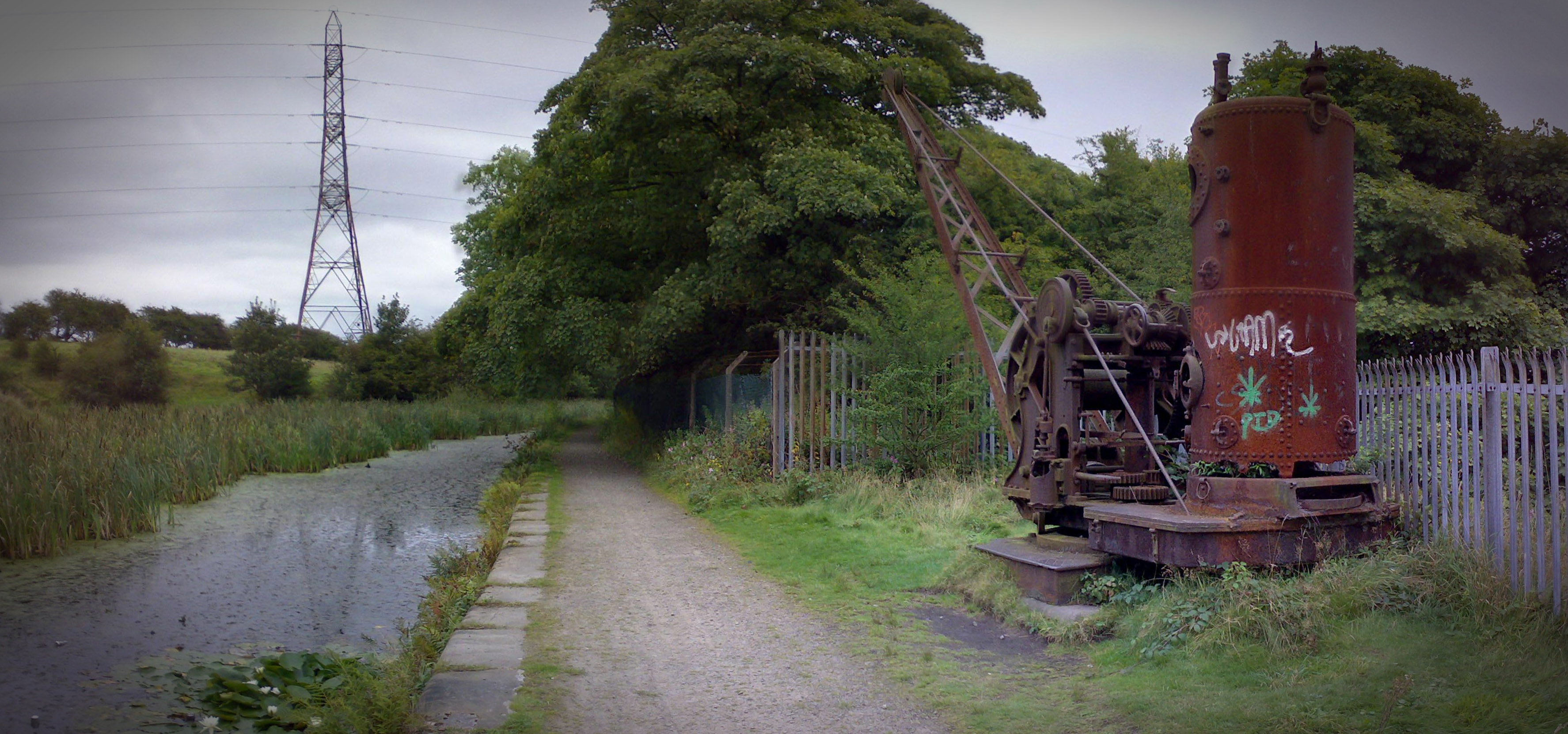 Mount Sion Steam Crane