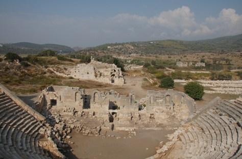 Ruinen von Patara auf Villa Amanda der Schildkröten Blog