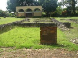Ruins of Juan Ponce de Leon's residence at Caparra in Puerto Rico