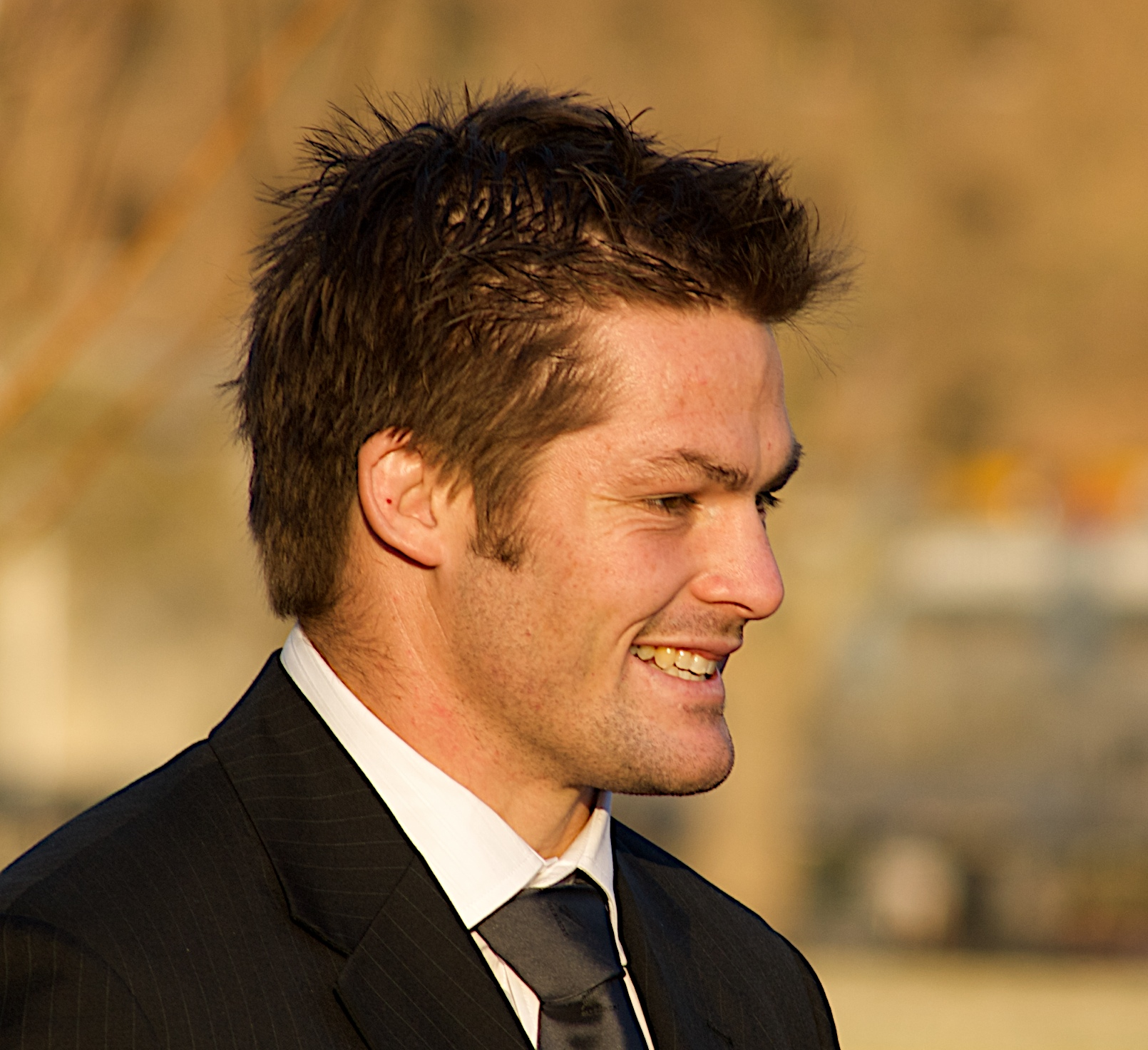 English: Richie McCaw, New Zealand rugby union...