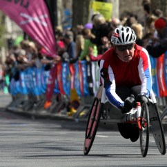 Wheelchair Marathon Ground Blind Chairs With Gun Rest File Racer During 2013 London 6 Jpg