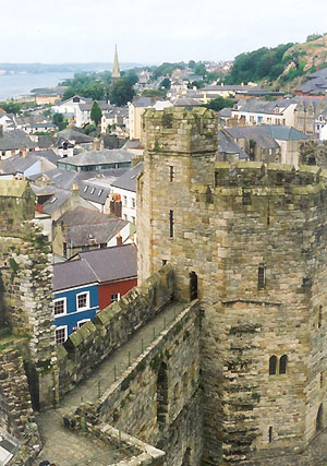 English: Caernarfon, Wales
