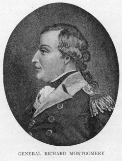 English: Engraved portrait of Richard Montgome...