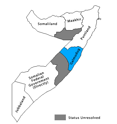 'Political Tensions between Puntland and Galmudug', al