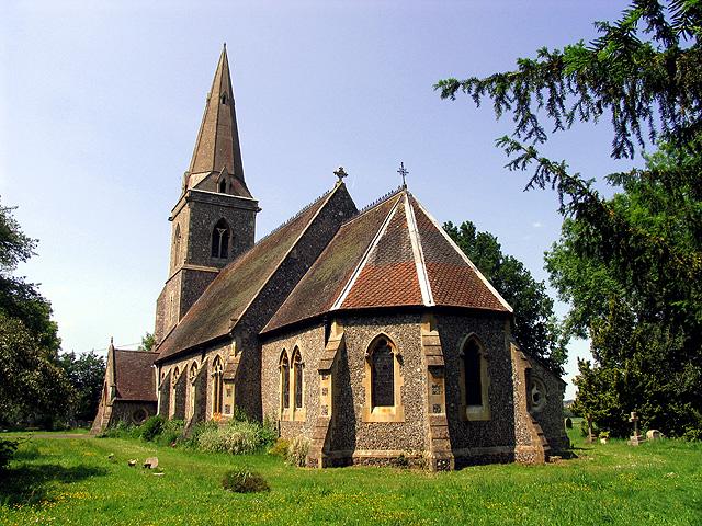 St Bartholomew, Arborfield, Berkshire: