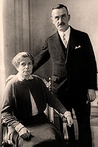Thomas and Katia Mann