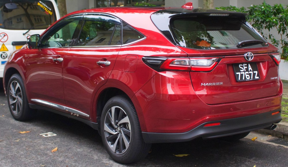 medium resolution of facelift toyota harrier