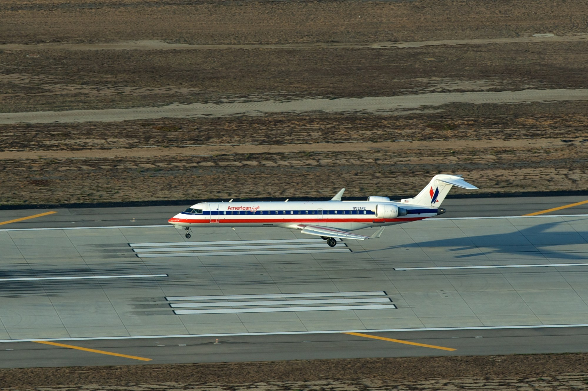 hight resolution of landing