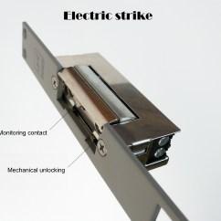 Electronic Door Lock Wiring Diagram Mercury Tachometer Electric Locking Mechanism Homeimprovement