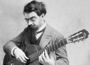 tarrega suona la chitarra - lagrima