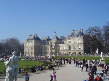 Palacio de Luxembourg - Jardim de Louxemburg