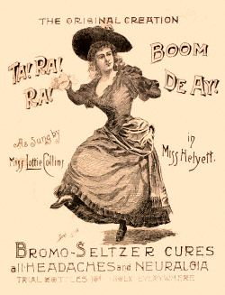 Bromo-Seltzer advertisement for headache medic...