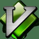 MacVim icon, glossy style