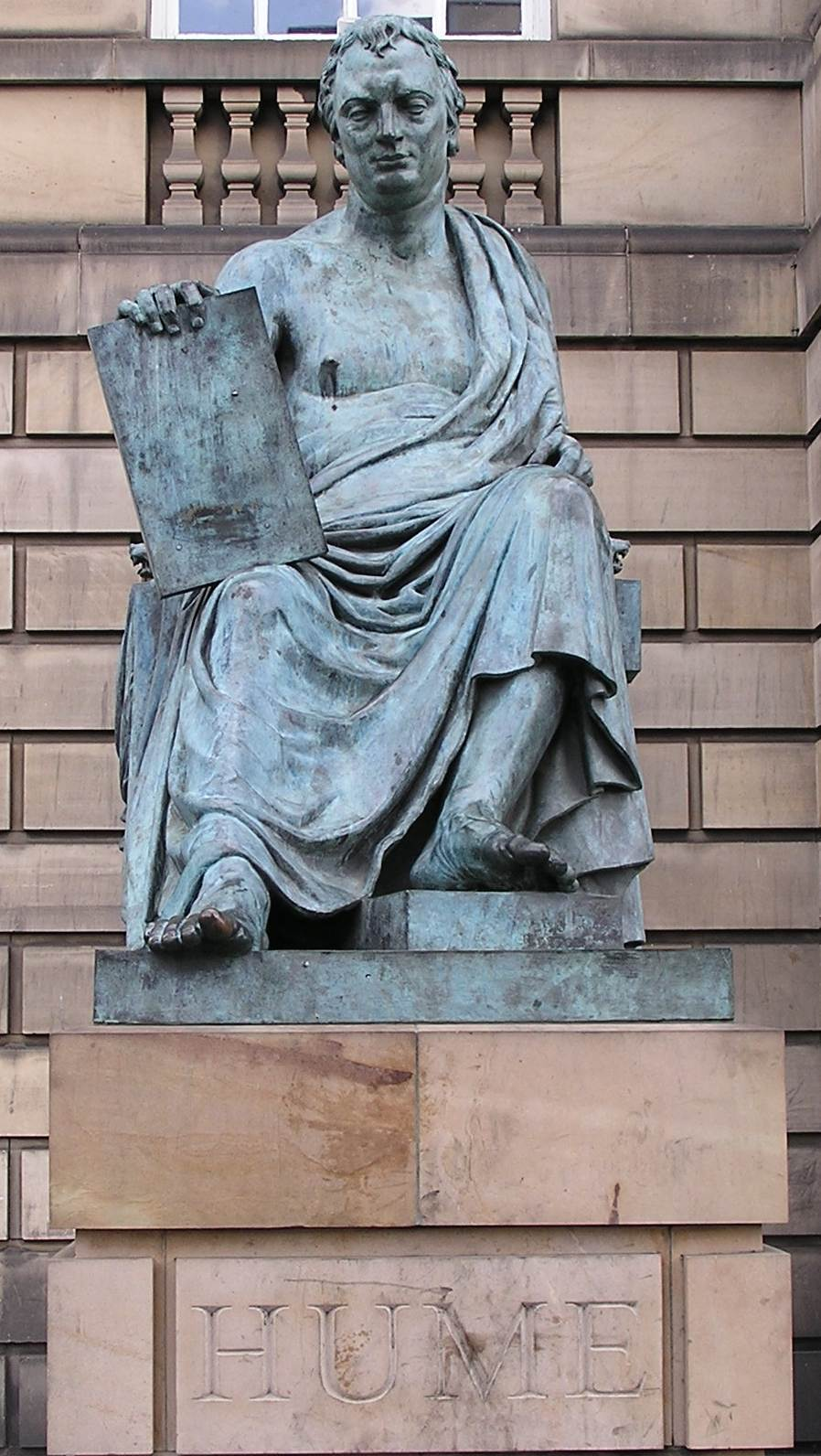 David Hume statue, Edinburgh