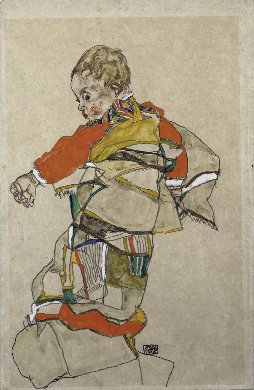 FileEgon Schiele Portrt Eines Kindes Anton Peschka