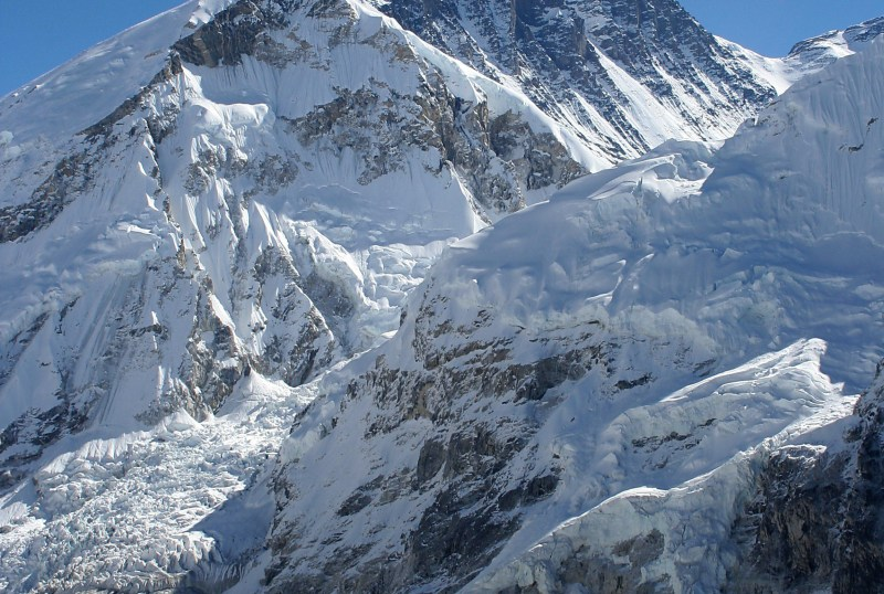 The summit of Mount Everest, the highest point on Earth- Most surreal places to visit
