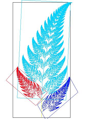 Fractal fern explained - Rule based fractals