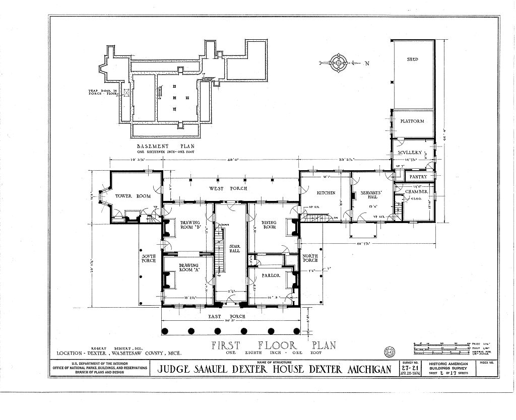 File Gordon Hall Dexter Mi Floor 1 Plan