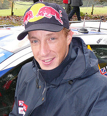 Kris Meeke at Blair Altholl Castle Services. P...