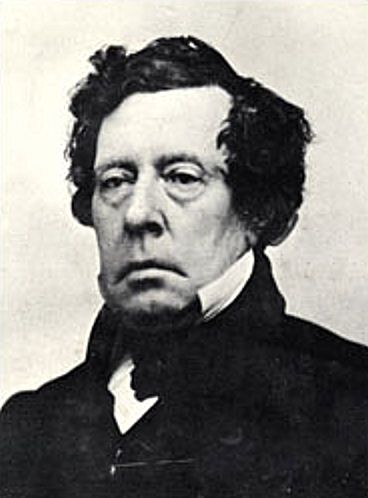 Commodore Matthew C. Perry in 1852 photograph, Library of Congress via WikiMedia