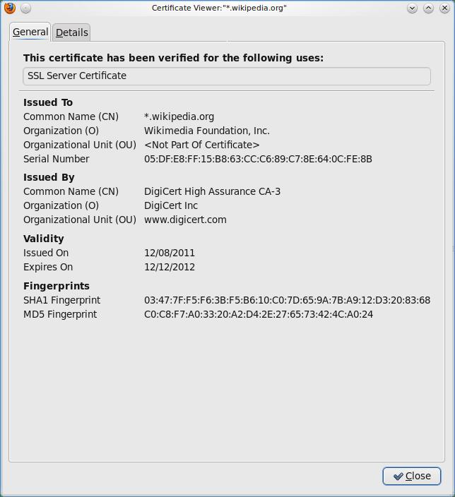 Public key certificate - Wikiwand