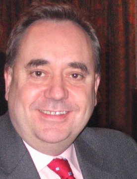 English: Alex Salmond photographed in his cons...