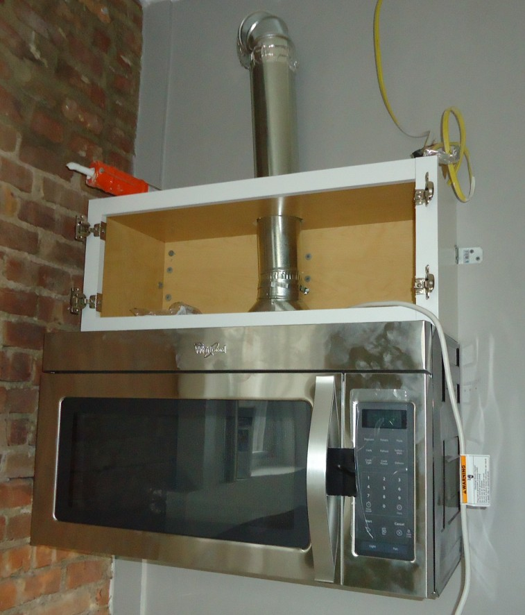 kitchen exhaust vent how to get rid of bugs in cupboards file renovation 9a cabinet and microwave with duct pipe jpg