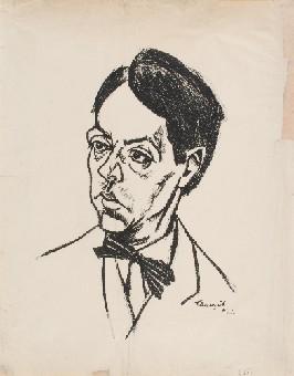 Retrato de Sándor Márai por Lajos Tihanyi
